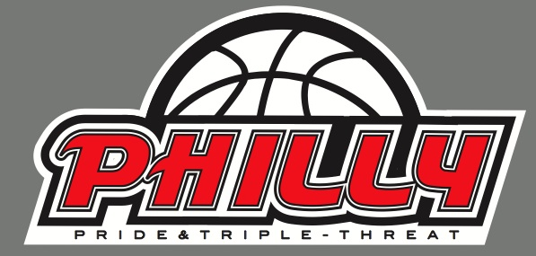Philly Pride Triple Threat Logo