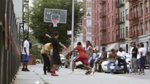 sidewalk hoops
