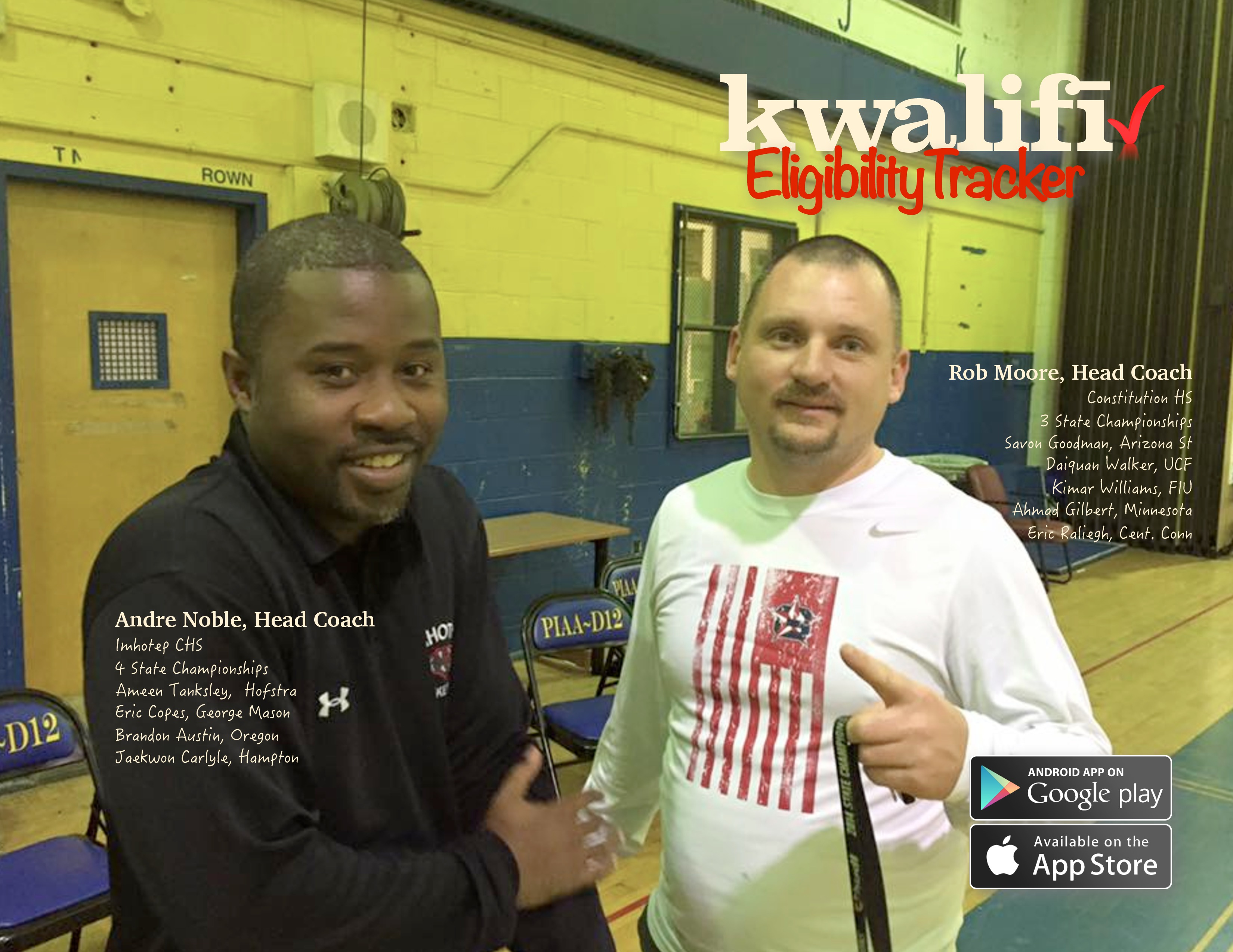 Andre Noble and Rob Moore - kwalifi poster-page-0