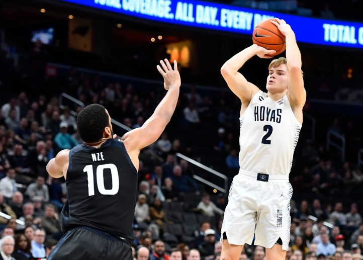 NCAA Basketball: Butler at Georgetown